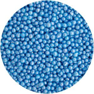 Mini perlas de azúcar azul
