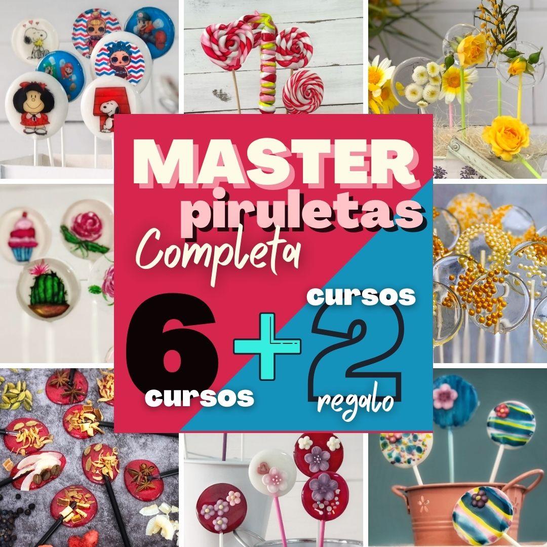 Master online de piruletas/paletas