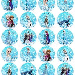 Impresiones comestibles Frozen