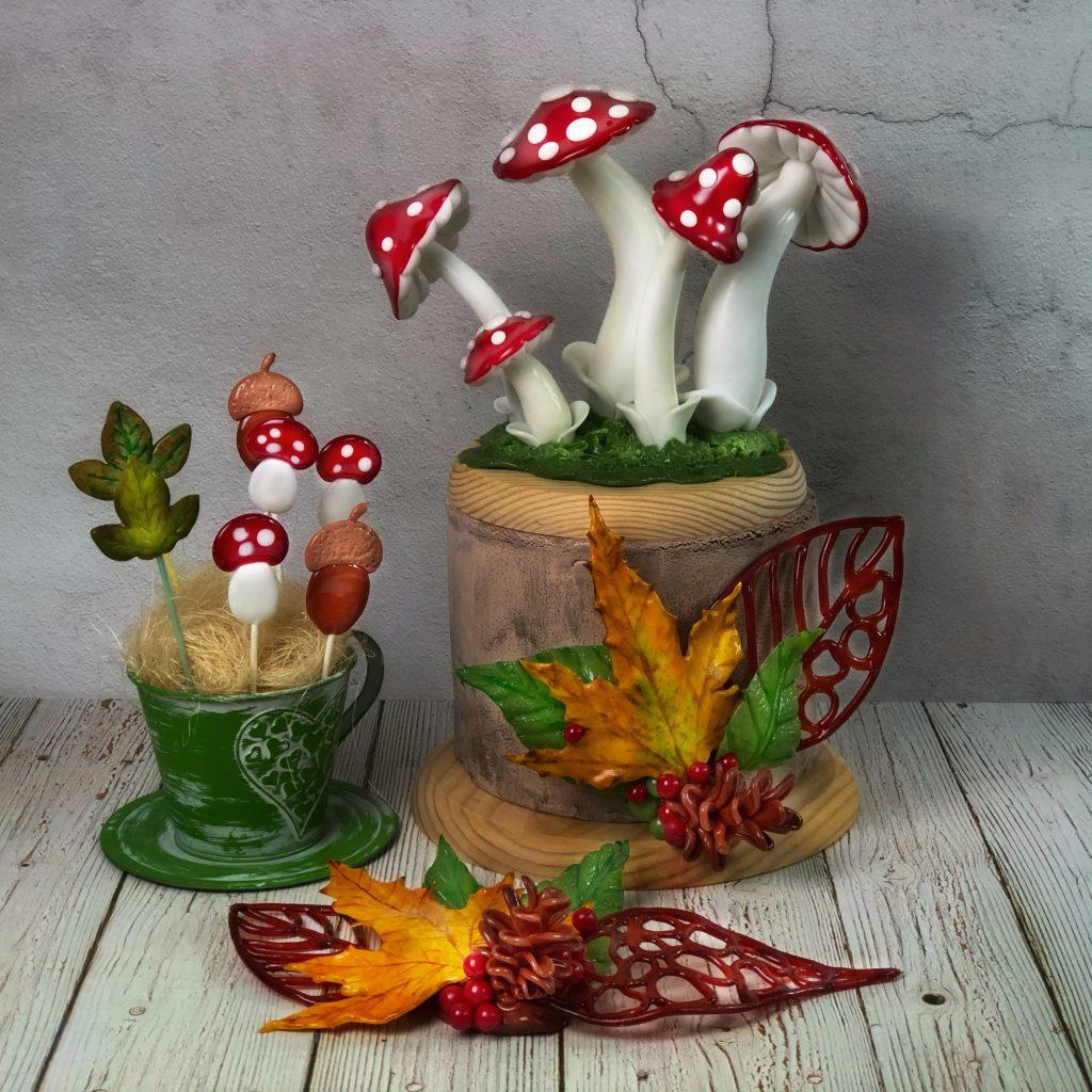 Cursos de isomalt de otoño