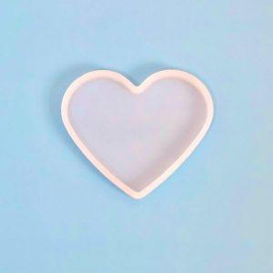 Molde de silicona forma corazón