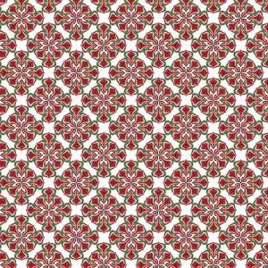 Impresión comestible arabesco cruz