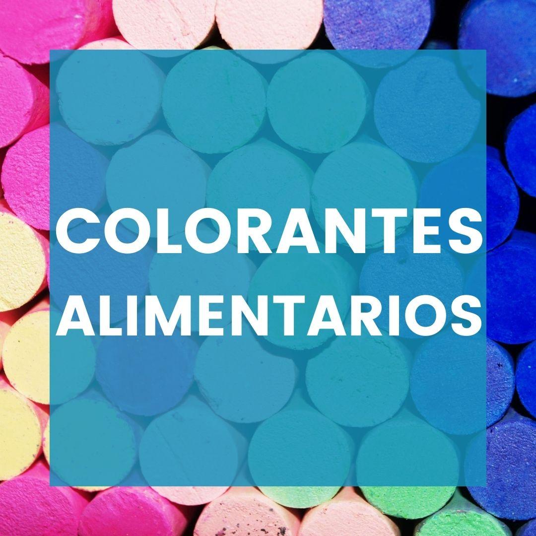 Colorantes alimentarios para isomalt